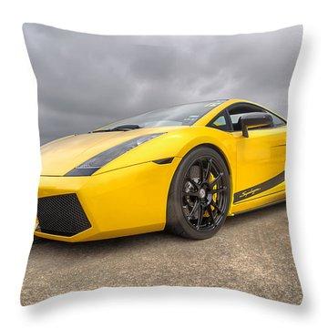 Lamborghini Gallardo Superleggera Throw Pillow