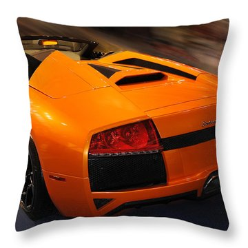 Lamborghini Murcielago 3 Throw Pillow