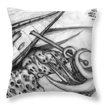 Lament Throw Pillow