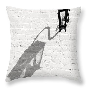 Lamp Shadow Throw Pillow