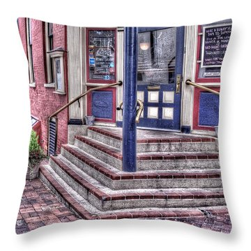 Throw Pillow featuring the photograph Lancaster Pensylvania by Jim Thompson