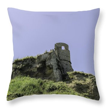 Italian Landscapes - Land Of Immortal Throw Pillow