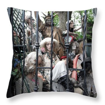 Land Of The Free  #2  Throw Pillow