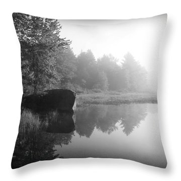 Land Of The Lost Throw Pillow by Greg DeBeck