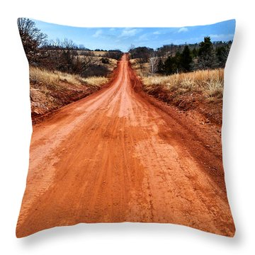 Land Run 100 Throw Pillow