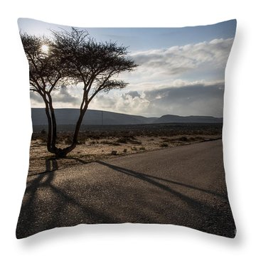 Landmark Tree Throw Pillow