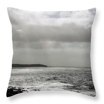 Lands End Throw Pillow by Linsey Williams