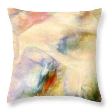 Landscape 3 Throw Pillow by Mike Breau