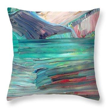 Landscape Throw Pillow by Fabrizio Cassetta