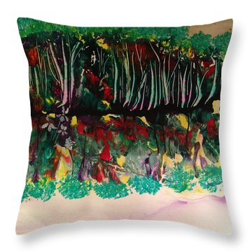 Landscape Five Hundred Throw Pillow