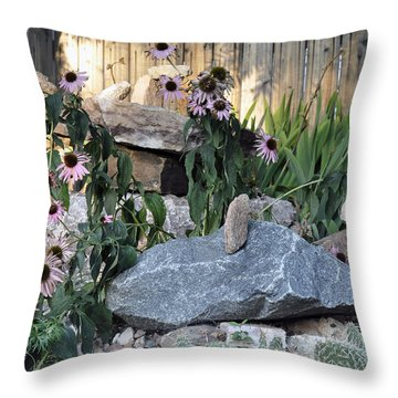 Landscape Formations Throw Pillow