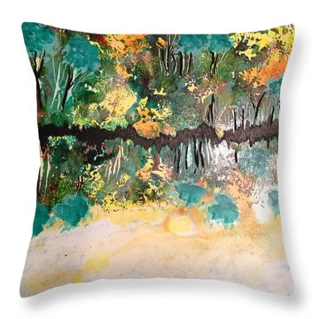 Landscape Four Hundred Throw Pillow