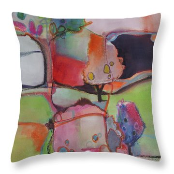 Landscape Throw Pillow by Michelle Abrams