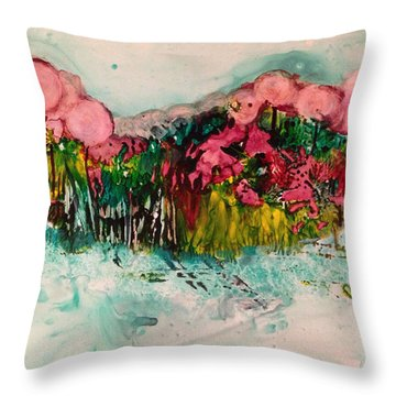 Landscape Three Hundred Throw Pillow
