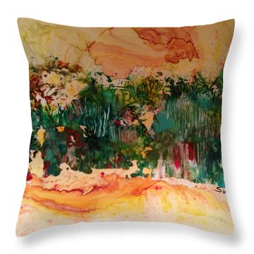 Landscape Twohundred Throw Pillow