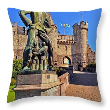 Lange Wapper Throw Pillow