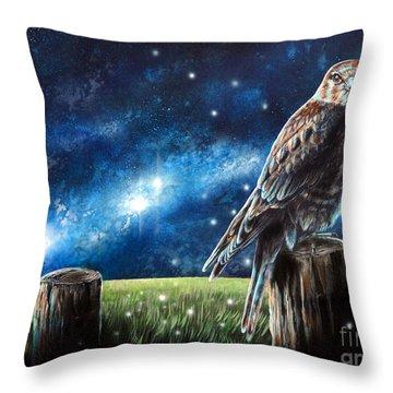 Languor Throw Pillow