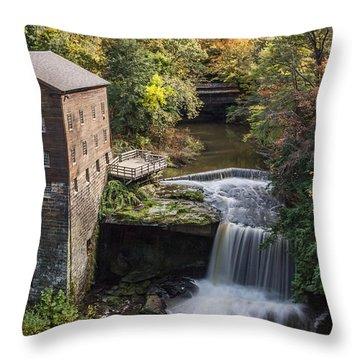 Lantermans Mill Throw Pillow