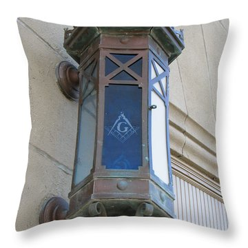 Lantern Of Secrets Throw Pillow by Michael Krek
