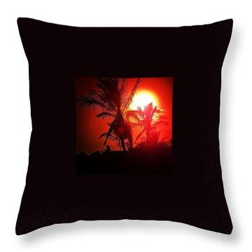 Lanzarote Dusk Throw Pillow