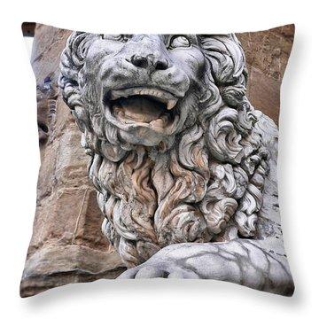 Lanzi Throw Pillow by Angela Wright