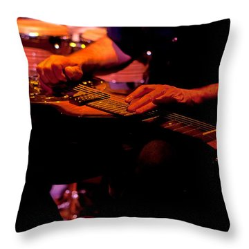 Lap Steel Throw Pillow
