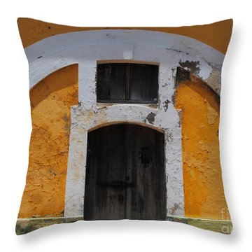 Large El Morro Arch Throw Pillow