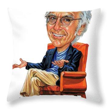 Famous Actor Throw Pillows