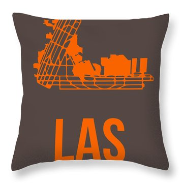 Las Las Vegas Airport Poster 1 Throw Pillow
