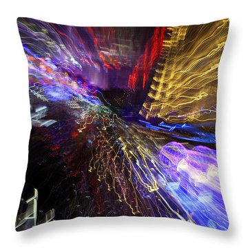 Las Vegas 5279 Throw Pillow