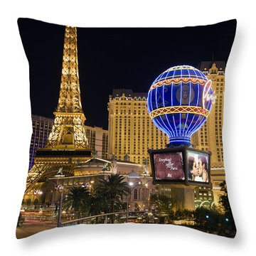 Las Vegas Throw Pillow