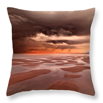 Last Breath Throw Pillow