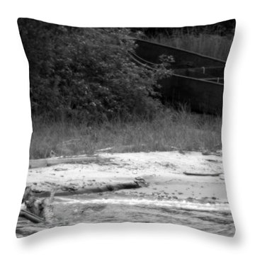 Last Chance Launch Throw Pillow