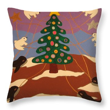 Last Christmas Throw Pillow