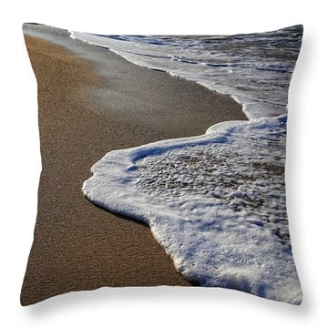 Last Day In Paradise Throw Pillow by Edward Fielding
