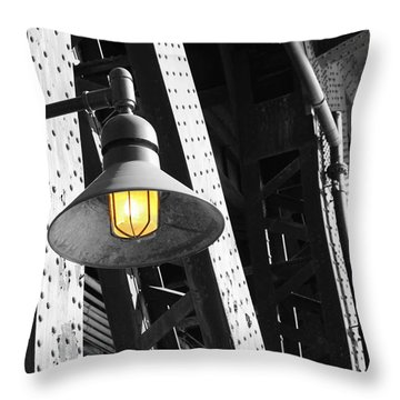 Throw Pillow featuring the photograph Last Hope by Patricia Babbitt
