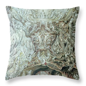 Last Judgement Wc Throw Pillow