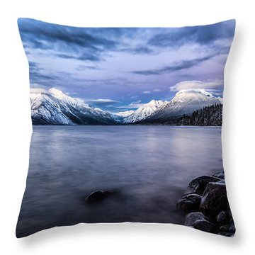 Throw Pillow featuring the photograph Last Light by Aaron Aldrich