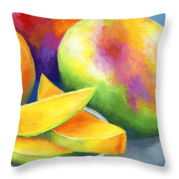 Last Mango In Paris Throw Pillow by Stephen Anderson