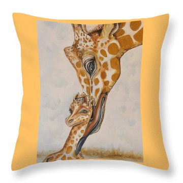 Last Minute Clean Up Throw Pillow
