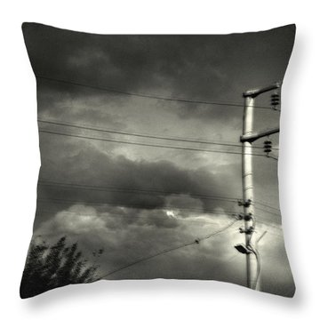 Last Morning Throw Pillow by Taylan Apukovska