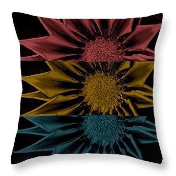 Last Nite Throw Pillow by Holley Jacobs