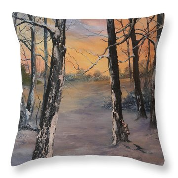 Last Of The Sun Throw Pillow
