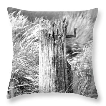 Last Post Throw Pillow