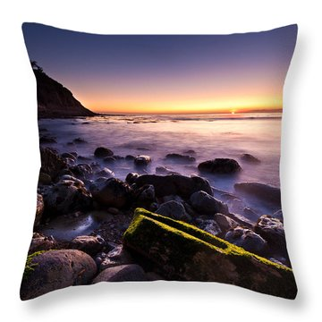 Throw Pillow featuring the photograph Last Ray by Mihai Andritoiu