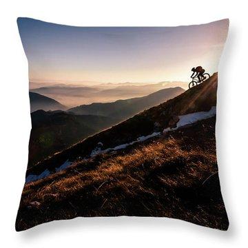 Slope Throw Pillows