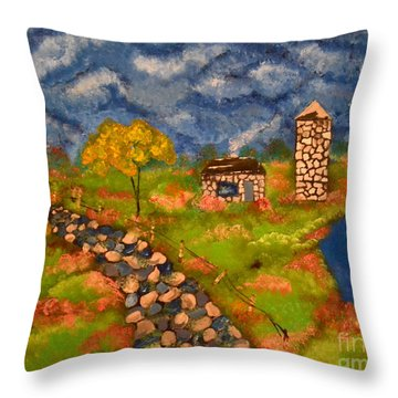 Last Spring Throw Pillow