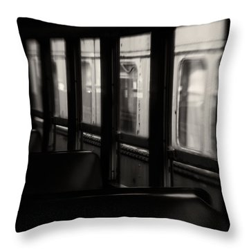 Last Stop Throw Pillow by Amy Weiss