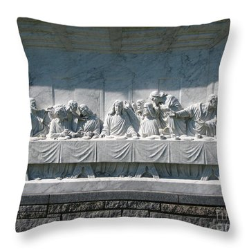 Throw Pillow featuring the photograph Last Supper by Greg Patzer
