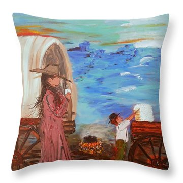 Last Treat Of The Night Throw Pillow